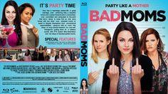 Bad Moms  Custom Blu-ray Cover