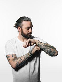 Portrait of Steve Angello photographed by Jonas Lindström. www.jonaslindstromstudio.se
