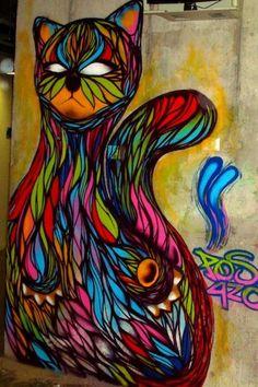 colourfull cat