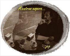 Mientras espero... Del otro lado del Universo, en esta esquina del tiempo... mientras espero que más necesito?... que una mesa de bar, un café, un... SEGUIR EN: https://www.facebook.com/129122410524675/photos/a.155200637916852.20619.129122410524675/448965981873648/?type=3&theater