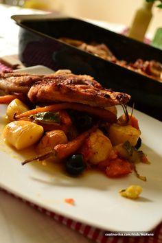 Kotlet sa Povrćem na mediteranski način — Coolinarika