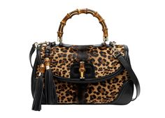 Gucci sac bamboo leopard http://www.vogue.fr/mode/shopping/diaporama/shopping-leopard-allure-feline/15914/image/875622#!gucci-sac-bamboo-leopard
