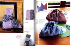 Handmade Bags Using Traditional JAPANESE FABRICS - Japanese Craft Book | eBay