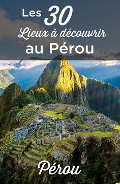 Do you want to visit Peru? Our TOP 30 things to do and see in Peru help you prepare for your trip. Discover the inescapable of the country! Places To Travel, Places To Go, Travel Destinations, Jhope, Namjoon, Taehyung, Travel Advice, Travel Guides, Peru