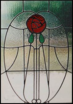 Charles Rennie Mackintosh Stained Glass http://www.scottishstainedglass.com/stained-glass-designs/traditional-stained-glass/mackintosh-stain...