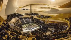 """Since the beginning of 2015, a new classical music concert hall awaits you in Paris. This new """"spaceship"""", known as the Philharmonie dedicated to muses and designed by Jean Nouvel, opened its doors in the Parc de la Villette. It invites you for an unforgettable evening during your stay at the Royal Magda Etoile.http://www.paris-hotel-magda.com/fr/actualites/l-experience-philharmonie"""