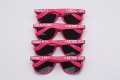 These ADORABLE sunglasses make the prefect gift for bachelorette parties, girls getaway, bridal parties, spring break and so much more! Dont forget,
