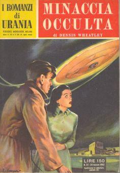 22  MINACCIA OCCULTA 20/8/1953  STAR OF ILL-OMEN  Copertina di  C. Caesar   DENNIS WHEATLEY