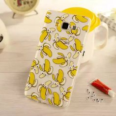Funny fruit Banana donuts popcorn french fries cat 3D activities eye Fundas case For Samsung Galaxy  S6/S6 EDGE PLUS/NOTE 345