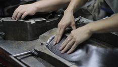 The Making of the Carbon Fiber LessThanFive Chair   Coalesse