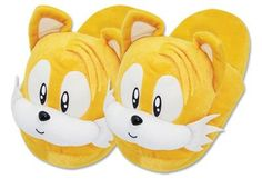 Slippers: Sonic The Hedgehog - Tails Head