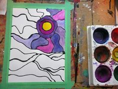 There is a lot of Ted Harrison love at the school these days. Both Grades 2 and 3 are completing art projects based on his work. Group Art Projects, Winter Art Projects, Art Projects For Adults, 3rd Grade Art, Grade 2, Art Lessons Elementary, Art Lesson Plans, Native Art, Art Classroom