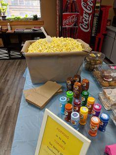 Teacher appreciation day popcorn bar, Teacher appreciation day popcorn bar , Teacher appreciation You can find Teacher appreciation week and more o. Employee Appreciation Gifts, Volunteer Appreciation, Employee Gifts, Teacher Appreciation Week, Teacher Morale, Staff Morale, Popcorn Bar, Teacher Treats, Teacher Gifts