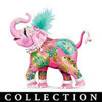 Margaret Le Van Pink Elephant Figurine Collection