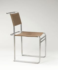 Marcel Breuer, B5 side chair, 1926. Manufactured by Standard-Möbel. Read more here.