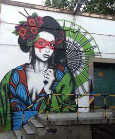Street Art by Fin Dac.