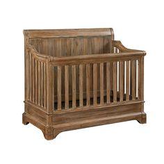 Bertini Pembrooke 4-in-1 Convertible Crib - Natural Rustic | BabiesRUs
