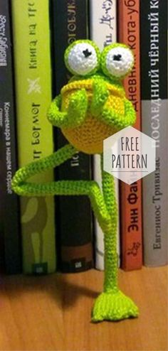Mesmerizing Crochet an Amigurumi Rabbit Ideas. Lovely Crochet an Amigurumi Rabbit Ideas. Crochet Frog, Crochet Patterns Amigurumi, Amigurumi Doll, Crochet Dolls, Knitting Patterns Free, Free Crochet, Free Pattern, Knit Crochet, Crochet Dinosaur