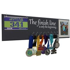 It sure is! Love this running medal hanger! you can display all your race medal, your race bibs and a picture of you. You can also choose a much smaller format starting at $24.99 perfect running gift...for myself :)