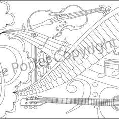 Shimmering Symphony Pattern PDF