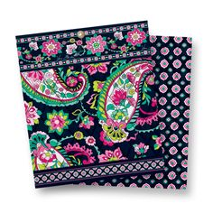 Petal Paisley pattern (Summer 2014) - This print marries traditional paisleys and blooms with a more modern palette. The navy base allows the dark pink, raspberry and bright green to stand out, while complementing a broader cast of wardrobe options.