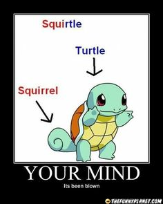 "Oh my god.. how did I not know that.. I always thought it was because ""squirted"" water... my mind is beyond blown."