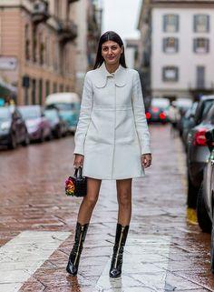 Giovanna Battaglia during Milan Fashion Week 2016 Giovanna Battaglia, Fashion Corner, Love Fashion, Womens Fashion, Fashion Design, Style Fashion, Fashion Week Paris, Milan Fashion Weeks, London Fashion