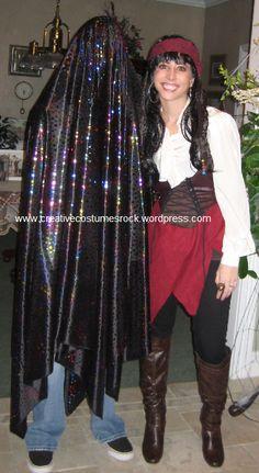Invisibility Cloak-1 ...  DIY Creative Costumes