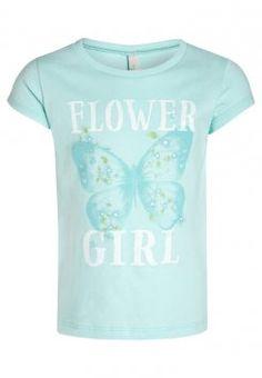 T-shirt print - mint - meta. Print T Shirts, Benetton, Mint, Mens Tops, Summer, Fashion, Peppermint, Moda, Summer Recipes