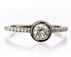 Solitaire Diamond Gold Jewelry Certified by CertifiedJewelryshop Diamond Jewelry, Gold Jewelry, Unique Jewelry, Solitaire Diamond, Gold Rings, Jewels, Engagement Rings, Handmade Gifts, Vintage