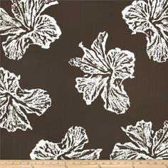 This versatile, lightweight cotton twill fabric is perfect for window treatments (draperies, valances, curtains and swags), toss pillows, duvet covers, and upholstery. Create handbags, apparel (skirts, lightweight jackets, pants) and aprons. Colors include white and brown. This fabric has 15,000 double rubs.