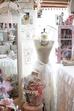 Pretty pink booth