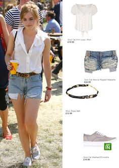 Emma Watson Festival Outfit