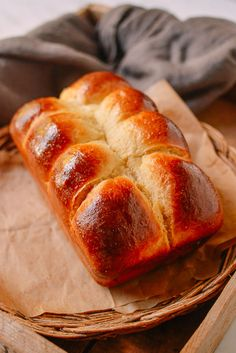 Homemade Brioche Recipe - It was ok. The bread rose really well, but it wasn't quite sweet enough and it didn't have the same texture as a store-bought brioche Bread Machine Recipes, Bread Recipes, Baking Recipes, Cuban Recipes, Quiche Recipes, Baking Tips, Soup Recipes, Best Bread Recipe, Bun Recipe