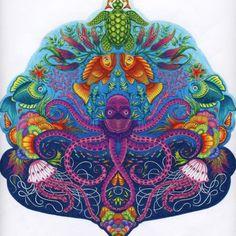 Johanna Basford | Colouring Gallery prismacolor premier