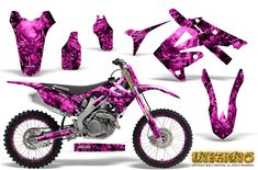 Honda Motocross Graphic Kits with the largest selection of designs and colors. Motocross Vintage, Motocross Girls, Honda Dirt Bike, Dirt Bike Gear, Dirt Biking, Porsche, Audi, Triumph Motorcycles, Custom Motorcycles