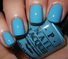 The Blue Steph liked that I bought. Imperfectly Painted: OPI Can't Find My Czechbook Get Nails, Love Nails, How To Do Nails, Pretty Nails, Hair And Nails, Nail Polish Art, Nail Polish Trends, Nail Polish Colors, Nail Polishes