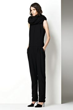 Holiday Sophistication : J Brand Jumpsuit   #JBRANDHoliday #WMag