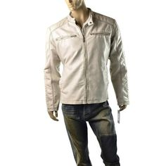 Armani Exchange A X Moto Jacket Mens Genuine Leather Biker