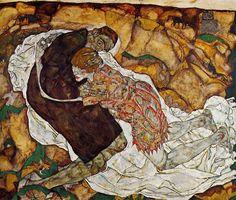 1915 Egon Schiele - Tod und Mädchen