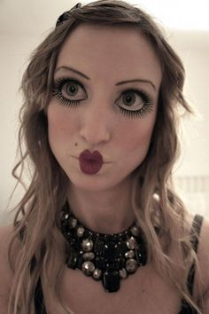 Halloween Doll Makeup - Bing Images                                                                                                                                                                                 More #PorcelainDollsOfTheWorldCollection