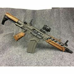 Custom AR Wood Furniture, Guns, Instagram Posts, Artwork, Beautiful, Weapons, Wooden Furniture, Weapons Guns, Weapons Guns