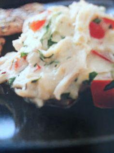 Easy crockpot recipes: Crab Dip Crockpot Recipe