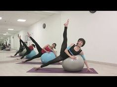 PELOTA para PRINCIPIANTES - ejercicios básicos todo cuerpo  34ddf75f23fe