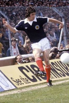 George Burley Scotland 1979 Retro Football, Football Kits, Vintage Football, Football Players, Ipswich Town Fc, English Football League, Blue Army, Scotland, Kicks