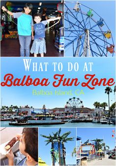 What to do at Balboa Fun Zone in Balboa Island, CA