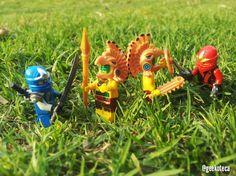 Aztecas vs ninjas   Geekoteca Labs   Lego