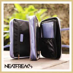 neatfreaksbysanchCompartments, compartments and more compartments.... separating your essentials and organizing them helps you reflect on what is truly valuable and worth keeping. Organize your life today and open your world to a clearer space. ( travel with me bag in blue turning on purple)#neatfreaks #neatfreaksbysanch #neatfreaksonly #toiletrybag #makeupbag #cosmeticpouch #organizedliving #mariekondo #konmariemethod #toiletrykit Freaks Only, Me Bag, Marie Kondo, Organize Your Life, Cosmetic Pouch, Space Travel, Toiletry Bag, Turning, Fashion Backpack