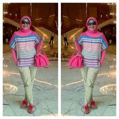 My Hijab..My Style ~ By ArieAnoy in Macau, China