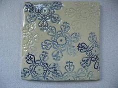 Handmade Tile Snowflake